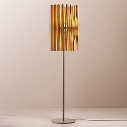 Stick LED Cylinder Floor Lamp