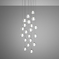 Beluga Multispot 20-Light Round Pendant Light