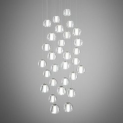 Beluga Multispot 30-Light Round Pendant Light