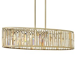Gemma Linear Chandelier