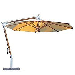Woodline Pendulum Wood Umbrella