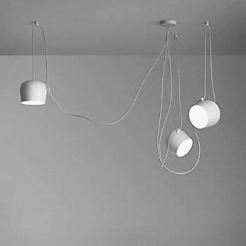 White finish / 3 Light