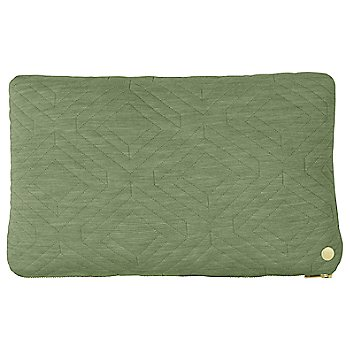 15.75 in x 9.8 in / Green