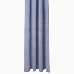 Chambray Shower Curtain