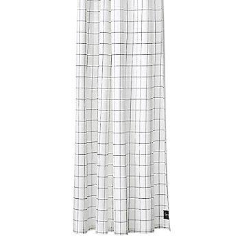 Grid Shower Curtain