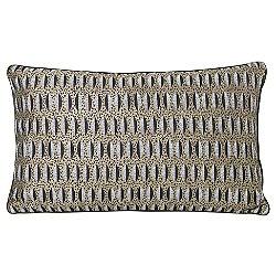 Salon Leaf Lumbar Pillow
