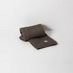 Organic Hand Towel by Ferm Living(Dark Grey)-OPEN BOX RETURN
