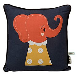Elle Elephant Pillow for Kids