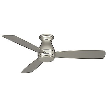Shown in Brushed Nickel finish with light cap, 52 inch