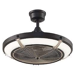 Picket Drum Ceiling Fan