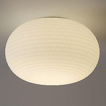 Satin Milky White finish, illuminated