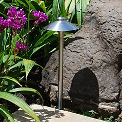 Stainless Steel China Hat Area Light Adjustable Hub
