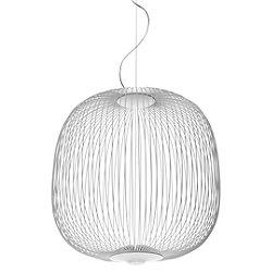 Spokes Round LED Pendant (White/138 inch) - OPEN BOX RETURN
