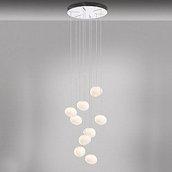 Gregg Piccola Round Multi-Light Pendant Light