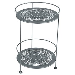 Guinguette Side Table(Storm Grey Textured) - OPEN BOX RETURN