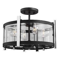 Broderick Semi-Flush Mount Ceiling Light