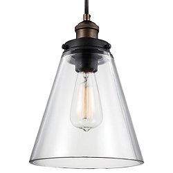 Baskin Cone Pendant Light