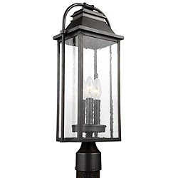 Wellsworth 3-Light Outdoor Post Light