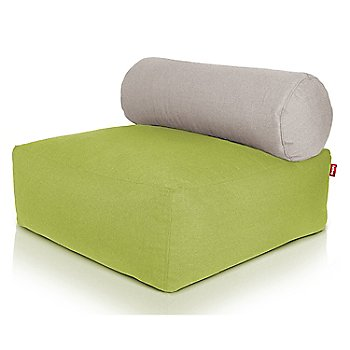 Shown in Green, Light Grey pillow
