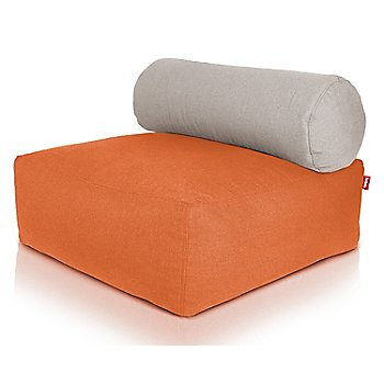 Orange / Silver pillow
