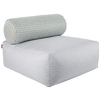 Silver / Glacier pillow