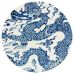 Cadeneta Blue China Rug