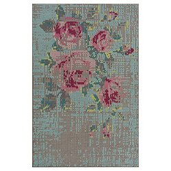 Canevas Flowers Naturales Rug