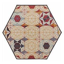 Hexa Hexagonal Rug