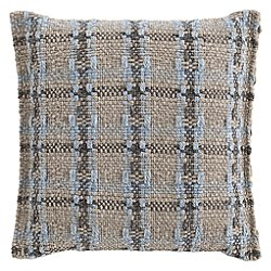 Garden Layers Outdoor Checks Small Pillow
