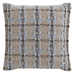 Garden Layers Outdoor Checks Small Pillow