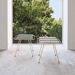 Mix & Match Brass Side Table
