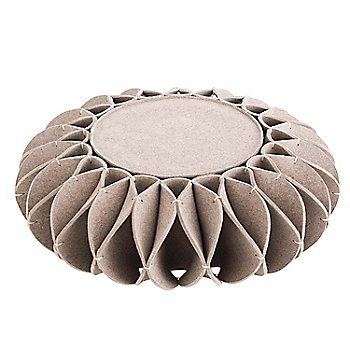 Low Pouf/ Gray