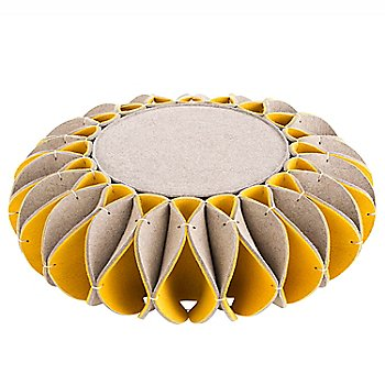 Low Pouf/ Yellow