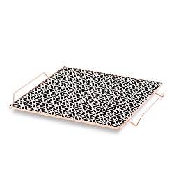 Mix & Match Large Square Tray, Black