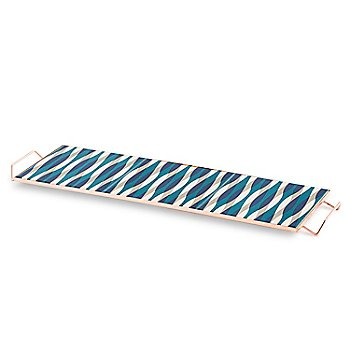 Mix & Match Large Rectangular Tray, Blue