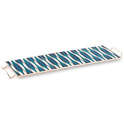 Mix & Match Large Rectangular Tray, Blue - OPEN BOX RETURN