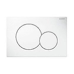 Geberit Samba Plastic Dual Flush Actuator Plate