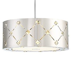 Crowned Pendant Light