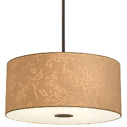 Drum Shade Pendant Light