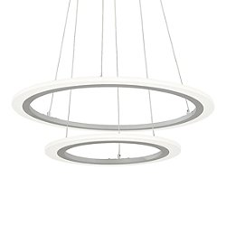 Discovery 2-Ring LED Pendant Light