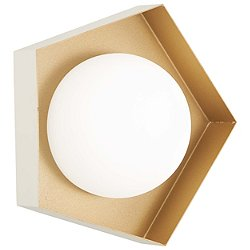 Five-O LED Bathroom Wall Light