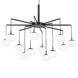George's Web LED Chandelier / Semi-Flush Mount Ceiling Light