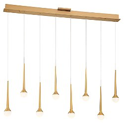 Honey Drip LED Linear Suspension Light
