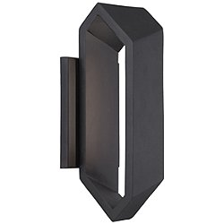 Pitch Large Outdoor LED Wall Sconce