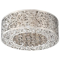 Hidden Gems LED Small Flush Mount Ceiling Light
