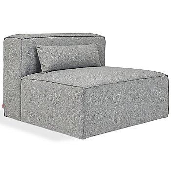 Mix Modular Armless Chair with Mix Modular Arm Chair