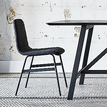 Lecture Upholstered Chair with Sudbury Rectangular Dining Table
