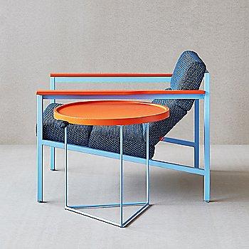 Orange color, in use