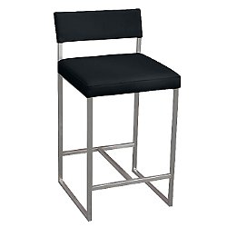 Graph Stool (Coal Vinyl) - OPEN BOX RETURN