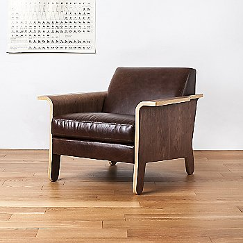 Shown in Chestnut Brown Leather